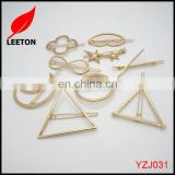 Factory supply fashion metal lady hair clips