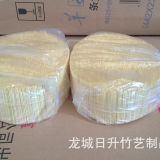 China Bamboo Toothpick Factory Toothpick 1.5-1.6X65mm 10000PCS/Bag 36bags/Carton