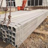 Galvanized Steel Square Tubing Black Steel Square Tube For Construction Engineering