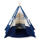 Wooden Tent Poles Kids bell children house tents