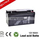 Bank ATM Machine Storage Batteries 12V 65AH