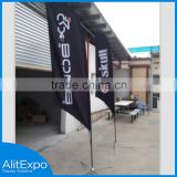 Wholesale feather high quanity flag fabric banner display, outdoor flag fabric banner