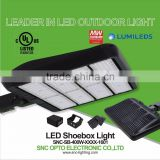 Slip Fitter Mounting IP65 400w LED Shoebox Light for Parking Lot/Tennis Court/Football Field
