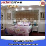 custom made luxury hotel room furniture wood bed base king size double bed frame                                                                                                         Supplier's Choice