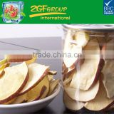 vacuum fried(VF) low temperature dried apple chips healty snacks low fat