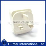 With CE White For Dual USB UK Main Charger Plug
