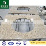 G682 Granite Counter Top Yellow With Natural Granite