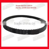 Part No.23100-GGE-9010-M1 Motorcycle Rubber Belt Motorcycle Driving Belt Moped CVT Drive Belt