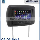 7 inch car headrest monitor / taxi headrest advertising monitor