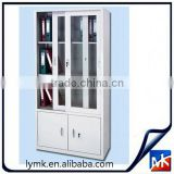 MK Modern glass sliding door large steel storage filing cupboard/modern office file cabinet with many drawers Design