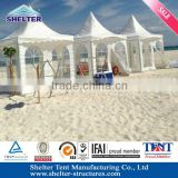 [5%OFF]Guangzhou lowest price UV-resistant seaside pvc pagoda tent for beach take s rest