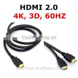 attractive price 4K 3D HDMI2.0 double ended hdmi cable 60HZ