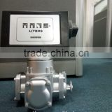 flow meter with mechanical counter( for fuel dispenser in gas station)