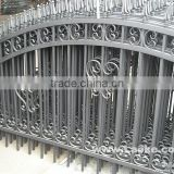 durable arc top wrought iron fencing gate design                                                                         Quality Choice