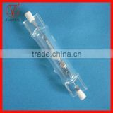 Double ended ceramic metal halide lamp Rx7s