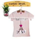 pink camouflage t-shirt design baby girl fancy shirts