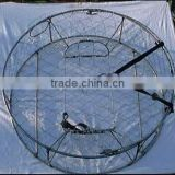stanless steel frame and net crab trap/ crab pot/ carb cage