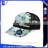 new design 5 panel snapback trucker hats with digital printing snapback truck cap for women