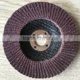 "CEC BRAND high quality flap disc4"",4.5"",5"",6"",7 for metal grinding disc black net cover"