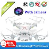 2.4G 4-CH flying 3d rc quadcopter with camera