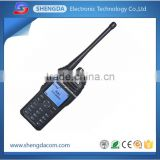 VHF UHF dual band DMR digital handheld two way radio/walkie talkie with priority channel scan in analog/ digital modes
