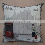 jacquard cushion polycotton cushion for home &hotel decoration &promotion&gift &supermarket retail- milano