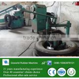 radial tire rim cutter machine / tire ring cutting machine for tire recycling