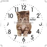 Little cat pattern handmade watch face cheap price for wholesale