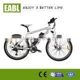 carbon fibre frame samsung battery electric MTB bike with shiman 24speed
