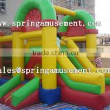 colorful classical inflatable party jumper and slide combo castle SP-CM029