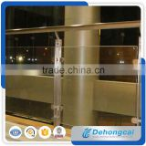 Customized Decorative Glass Indoor Regular Durable Wrought Iron Fence