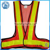 Factory Cheap Wholesale High Visibility Reflective Traffic Warning Clothing Safety Waistcoat
