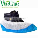 Disposable Non woven PP+PE Non-skid shoe cover waterproof