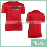 loose fit chinese t-shirt cheap lightweight coverage and a soft feel basic t-shirt Eation logo on front boys t-shirt