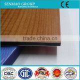 wood grain finishing plastic composite wall panel aluminum compound panel