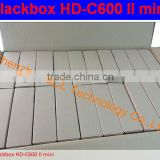 Blackbox hdc600 2 mini for Singapore hd box for cable tv receiver with wifi support world Cup HD channels in stock