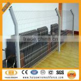 China PVC coated galvanized welded garden partition fence