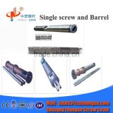 PP/PE parallel twin screw barrel for food extruder/inflating food extruder double co-rotation screws/plastic & rubber machinery