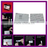 hot sell nail wrapper remove aluminium foil sheet                                                                         Quality Choice