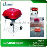 Hot sales bbq grill . New style easily moved outdoor hamburger barbecue grill. remonable bbq grill