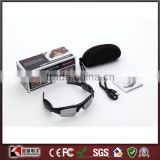 Hidden Sun Glasses Camera Audio Video Recorder DV DVR 720x480 Black Sunglasses