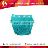 100%cotton high quality huoyuan baby underwear high quality organic