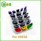 high quality replacement vx510 keypad Rubber keypad for Verifone VX510 keypad POS keyboard
