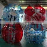 High quality wholesale price inflatable body zorb ball, bumper ball, bumper ball suit for sport games