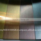 Titanium Coating. Stainless Steel color coating, PVD Titanium Coating, Coating Service, color coating on stainless steel plate