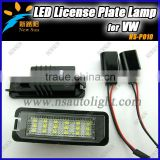 Good Quality Wholesale Led License Lamp For GOLF4,For EOS 06~09 Car Parts Led Number Plate Light For VW
