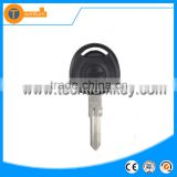 high quality transponder key shell with uncut blade with logo for Chevrolet cruze captiva lacetti epica