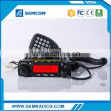 NEWEST!!! SAMCOM 50W/40W dual band vhf&uhf tetra tri band mobile radio AM-400UV with FCC approval