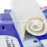 2014 best selling bamboo fiber dish cloth
