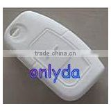 Fashion promotional gifts for friends milk white silicone key cover silicone skin cover for car key